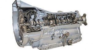 Cutaway of an automatic transmission